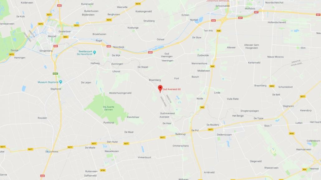 Google Maps - Klein Oever - Go Social Party